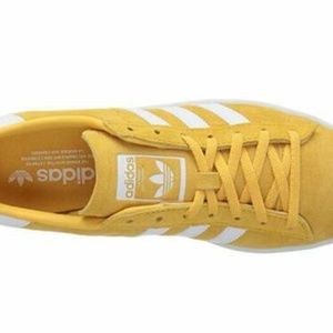 BRAND NEW ADIDAS CAMPUS ORANGE SUEDE WOMENS SHOES